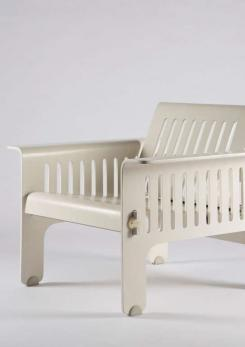 "Compasso - Impressive ""Triennale"" Armchairs by Ammannati and Vitelli for Rossi di Albizzate"