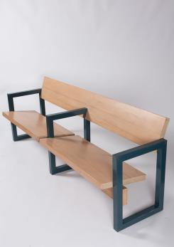Compasso - Church Bench by Gerrit Rietveld