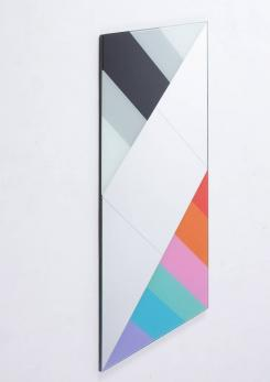 Compasso - Wall Mirror by Eugenio Carmi for Acerbis