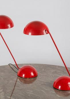 "Compasso - Pair of ""Bikini"" Table Lamps by Barbieri and Marianelli for Tronconi"