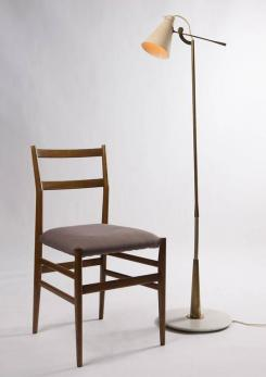 Compasso - Floor Lamp Model 1030 by Gino Sarfatti for Arteluce