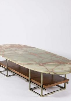 Compasso - Huge Onyx Low Table