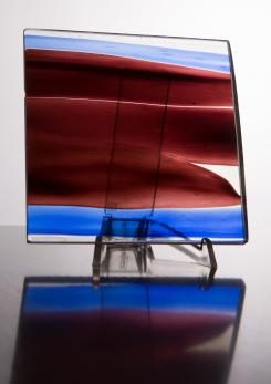 Compasso - Gio Ponti Glass Sculpture by Venini