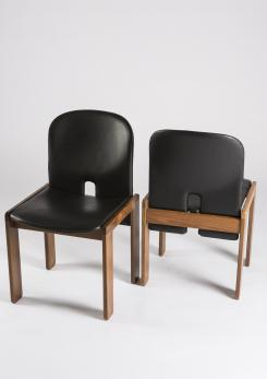Compasso - Pair of Chairs Model 121 by Afra and Tobia Scarpa for Cassina
