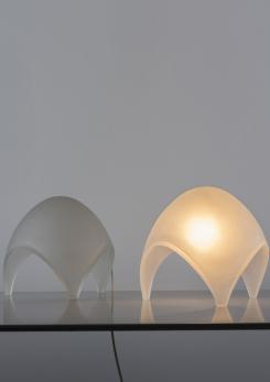 "Compasso - Pair of ""Coque"" Table Lamps by Elio Martienelli for Martinelli"