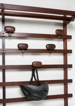 Compasso - Wall Coat Rack Unit by Ezio Longhi for Elam