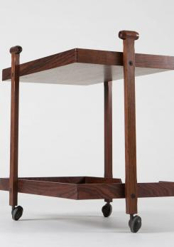 "Compasso - Bar Cart Model ""CR20"" by Franco Albini and Franca Helg for Poggi"