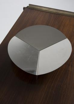 Compasso - Steel Centerpiece by Grignani for Luci