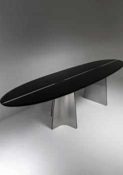 "Compasso - Rare ""Ufo"" Table by Luigi Saccardo for Arrmet"