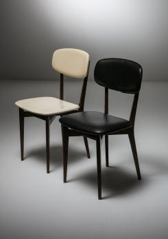 Compasso - Pair of Chairs Model 691 by Ico Parisi For Cassina