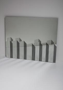 Compasso - Wall Mirror Manufactured by Rimadesio